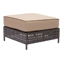 Pinery Ottoman Brown & Beige