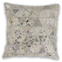 """Pillow L329 Ivory Prism 18"""" X 18"""""""