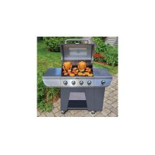 Deluxe Four Burner Gas Grill