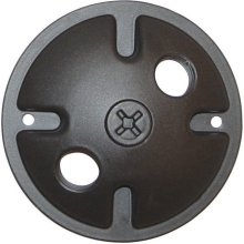 2-Light Mounting Plate - Dark Gray Finish