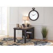 Tyler Creek - Grayish Brown/Black 2 Piece Home Office Set Product Image