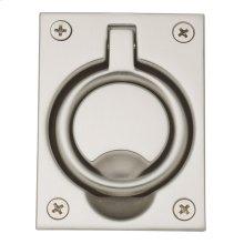 Satin Nickel Flush Ring Pull