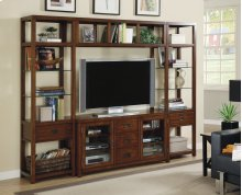 "Home Entertainment Danforth Wall Group w/56"" Console"