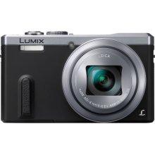 REFURBISHED LUMIX DMC-ZS40 30X Super Zoom 18.1mp Travel Digital Camera Bundle- Silver