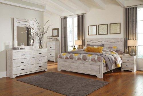 Briartown - Whitewash 2 Piece Bedroom Set