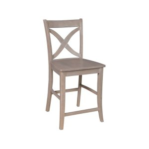 JOHN THOMAS FURNITURESalerno Stool in Taupe Gray