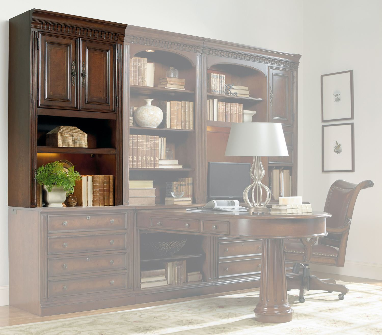 Hooker FurnitureHome Office European Renaissance Ii Door Hutch