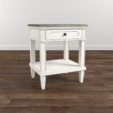 Verona Bedside Table