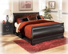 Huey Vineyard King Size Sleigh Bed