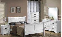 5939 Classic Queen BED COMPLETE; Queen HB, FB, Rails & Slats