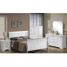 5939 Classic Queen GROUP; QB, Dresser Mirror, Chest