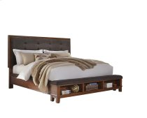 Ralene - Medium Brown 3 Piece Bed Set (King) Product Image