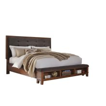 Ralene - Medium Brown 3 Piece Bed Set (King)