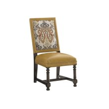 Jacqueline Leather Hostess Dining Chair