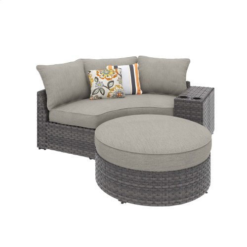 Spring Dew III Lounger w/ Ottoman & Console
