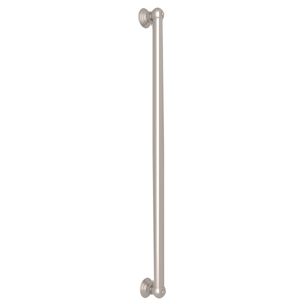 "Satin Nickel 24"" Decorative Grab Bar"