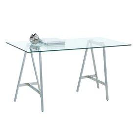 Ackler Writing Desk - Silver