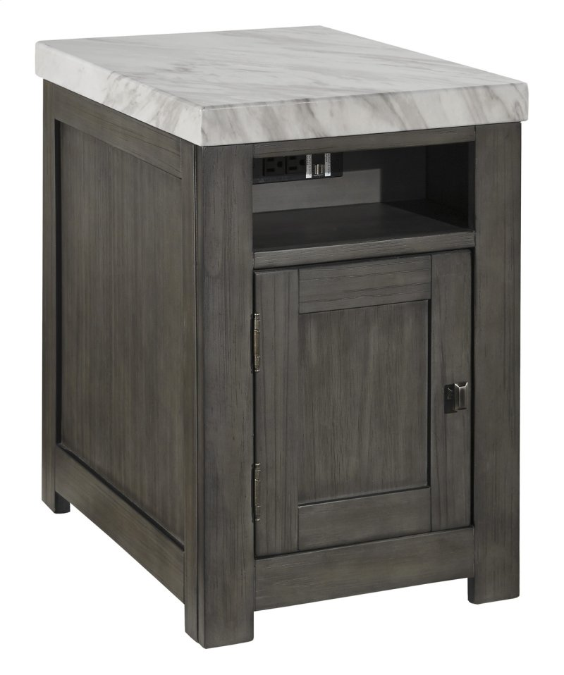 T4503 In By Ashley Furniture In Fairbury Il Rectangular End Table