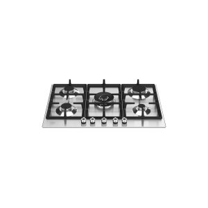 Bertazzoni30 Front Control Gas Cooktop 5 burners Stainless Steel