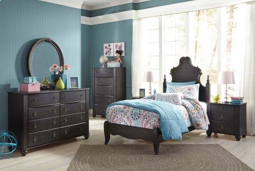 Corilyn - Dark Brown 2 Piece Bedroom Set