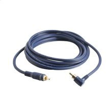 25ft Velocity[TM] Right Angled Subwoofer Cable