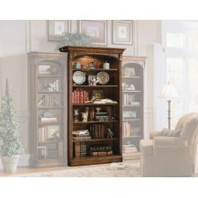 Home Office Brookhaven Open Bookcase
