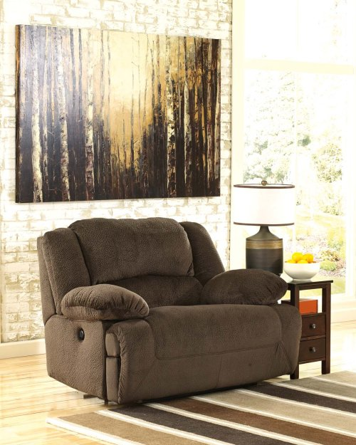 Toletta Zero Wall Power Wide Recliner - Chocolate