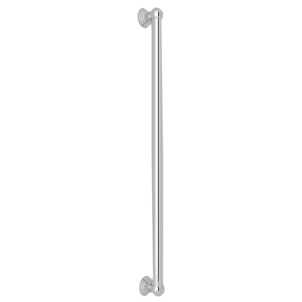 "Polished Chrome 24"" Decorative Grab Bar"