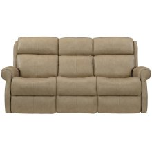 McGwire Power Motion Sofa in #44 Antique Nickel
