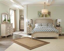 Demarlos King Bedroom Group: King Bed, Nightstand, Dresser & Mirror