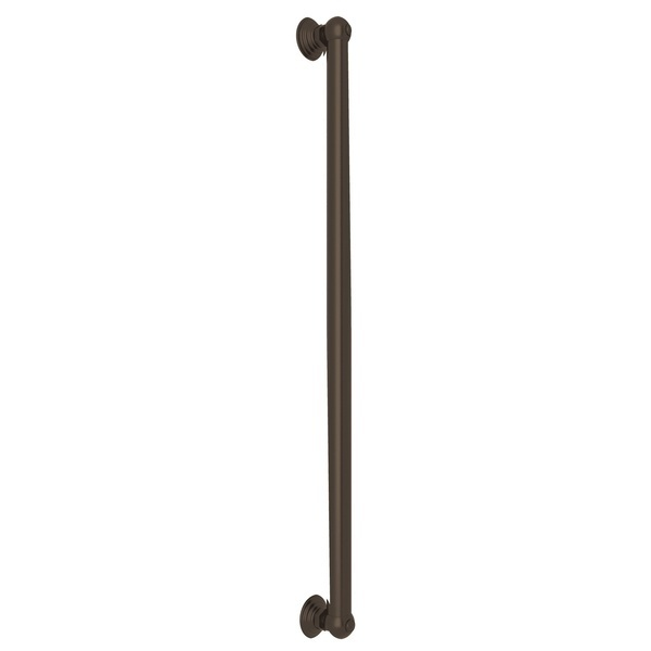 "Tuscan Brass 24"" Decorative Grab Bar"