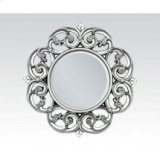 "Silver Accent Mirror, 30""d Product Image"