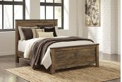 Trinell - Brown 3 Piece Bed Set (Queen)