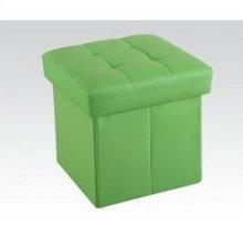 Green Ottoman W/storage