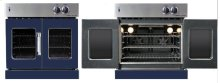 Residential Wall Oven, French Door Wall Oven , Dark Blue Color