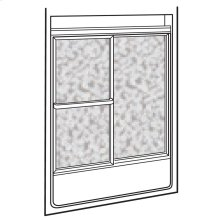 Showerite Framed Sliding Bath Shower Door - Silver