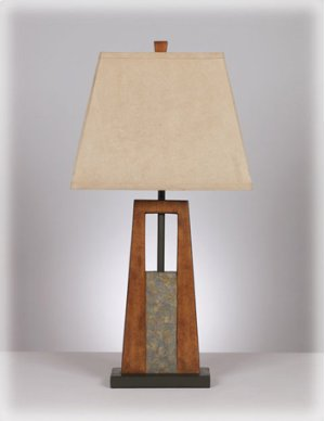 Resin Table Lamp (2/CN)