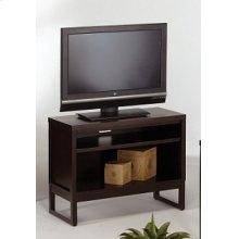 Athena TV Stand - Dark Chocolate Finish