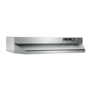 "Broan24"", Stainless Steel, Under-Cabinet Hood, 160 CFM"