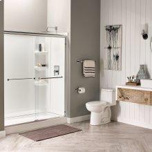 Studio 60x32-inch Shower Walls - Arctic