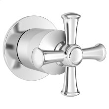 Delancey In-Wall Diverter Valve - Cross Handle  American Standard - Polished Chrome