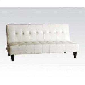 Wh. Bycast Pu Adjustable Sofa