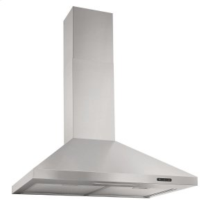 BroanBroan® 30-Inch Convertible Wall-Mount Chimney Range Hood, 400 CFM, Stainless Steel