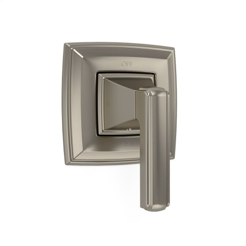 Connelly Two-Way Diverter Trim with Off - Brushed Nickel