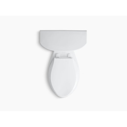 Almond Comfort Height Two-piece Elongated 1.6 Gpf Toilet With Aquapiston Flush Technology and Right-hand Trip Lever, Seat Not Included