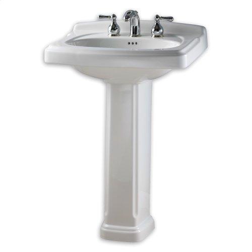 Portsmouth 24 Inch Pedestal Sink - Linen