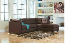 Maier - Walnut 2 Piece Sectional