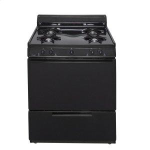 Premier30 in. Freestanding Gas Range in Black
