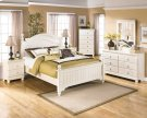 Cottage Retreat - Cream Cottage 6 Piece Bedroom Set Product Image