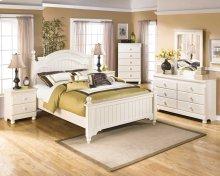 Cottage Retreat - Cream Cottage 6 Piece Bedroom Set